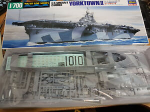 Portaerei Yorktown II U.S. Aircraft Carrier - Hasegawa Kit 709 1:700 - Nuovo