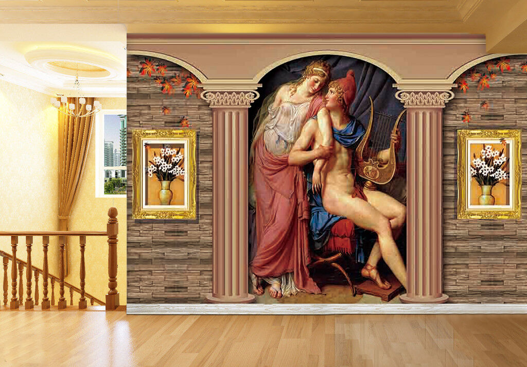 3D Beautiful painting 565 Wall Paper Print Wall Decal Deco Indoor Wall Murals