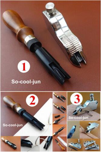 3kind LeatherCraft Adjustable V U-Gouge Cutting Folding Tool F Folds Box Corners