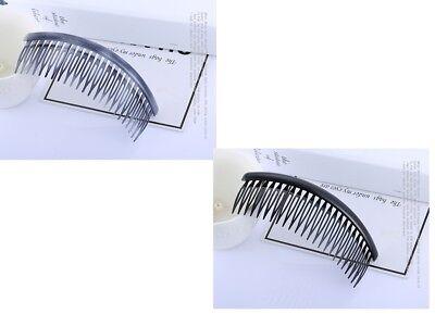 1 X Plain Capelli Pettini Diapositive Laterale Pettini Nero-mostra Il Titolo Originale Profitto Piccolo