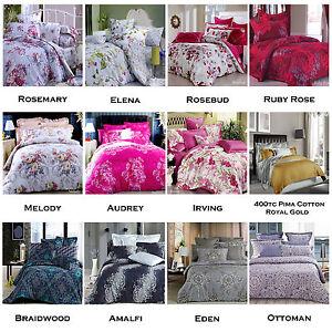 Image Is Loading 3 Pce Grand Atelier Quality Quilt Doona Duvet