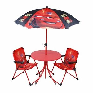 Image Is Loading Children Disney Cars Outdoor Patio Set Kids Table