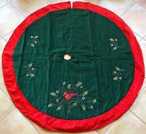 Cardinal Tree Skirt 102