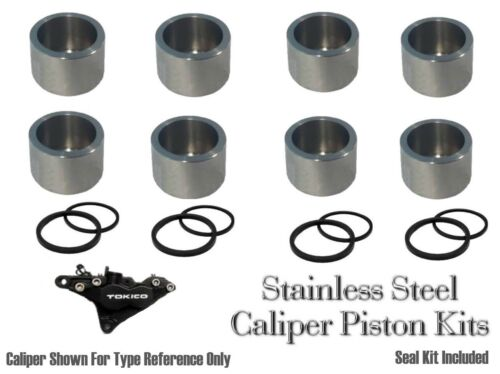 Suzuki GSXR600 SRAD front stainless brake caliper pistons  and seals 1997-2000
