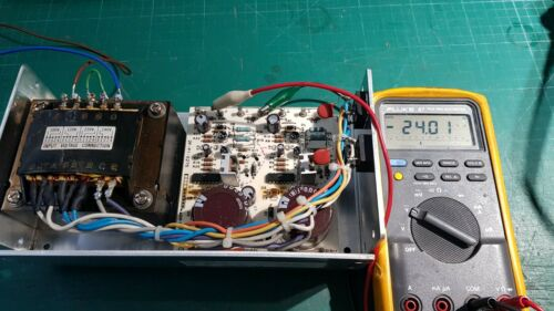24V At 2.4A Linear Power Supply Tamura OLD-24CC 24V Dual Rail Supply +24V