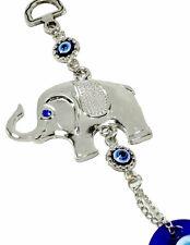 Blue Evil Eye Elephant Amulet Protection Wall Hanging Home Decor Gift US Seller