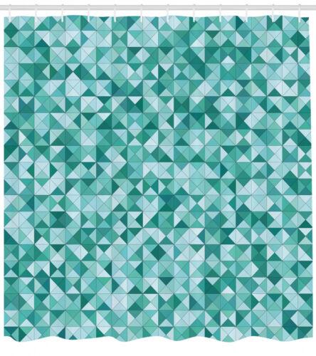Geometrisch Duschvorhang Dreieck Mosaikform