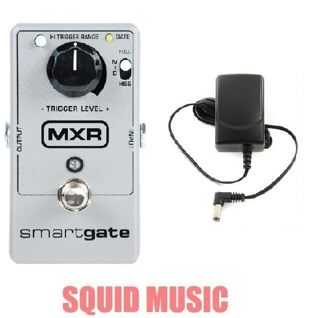 MXR Smart Gate Pedal M-135 Noise Gate Reduction Suppressor M135 ( FREE ADAPTER )