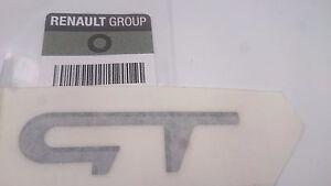 monogramme renault twingo ii gt rs sport original badge logo embleme megane clio ebay. Black Bedroom Furniture Sets. Home Design Ideas