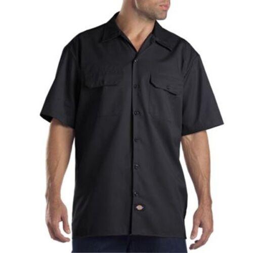 Dickies Men/'s Size S-2XL 3XL 4XL 5XL Short Sleeve Work Shirt Shop Mechanics 1574
