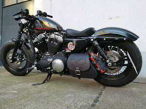Harley-Davidson-Sporty-Skull-Black-HD-Forty-Eight-Seitentasche-Sportster-tasche
