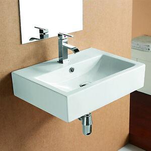 lux aqua waschtisch waschbecken wandwschbecken handwaschbecken wandmontage 4394 ebay. Black Bedroom Furniture Sets. Home Design Ideas