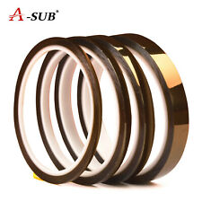 4 Rolls A Sub Sublimation Transfer Heat Resistant Tape Mixed 3mm 5mm 8mm 12mm