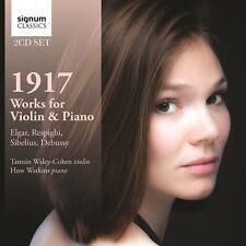 Elgar / Respighi / D - 1917: Works for Violin & Piano [New CD]