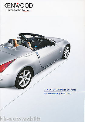 Kenwood Car Entertainment Prospetto Catalogo 2006/2007 Autoradio Fasi Terminali Altop-