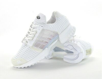 white climacool trainers