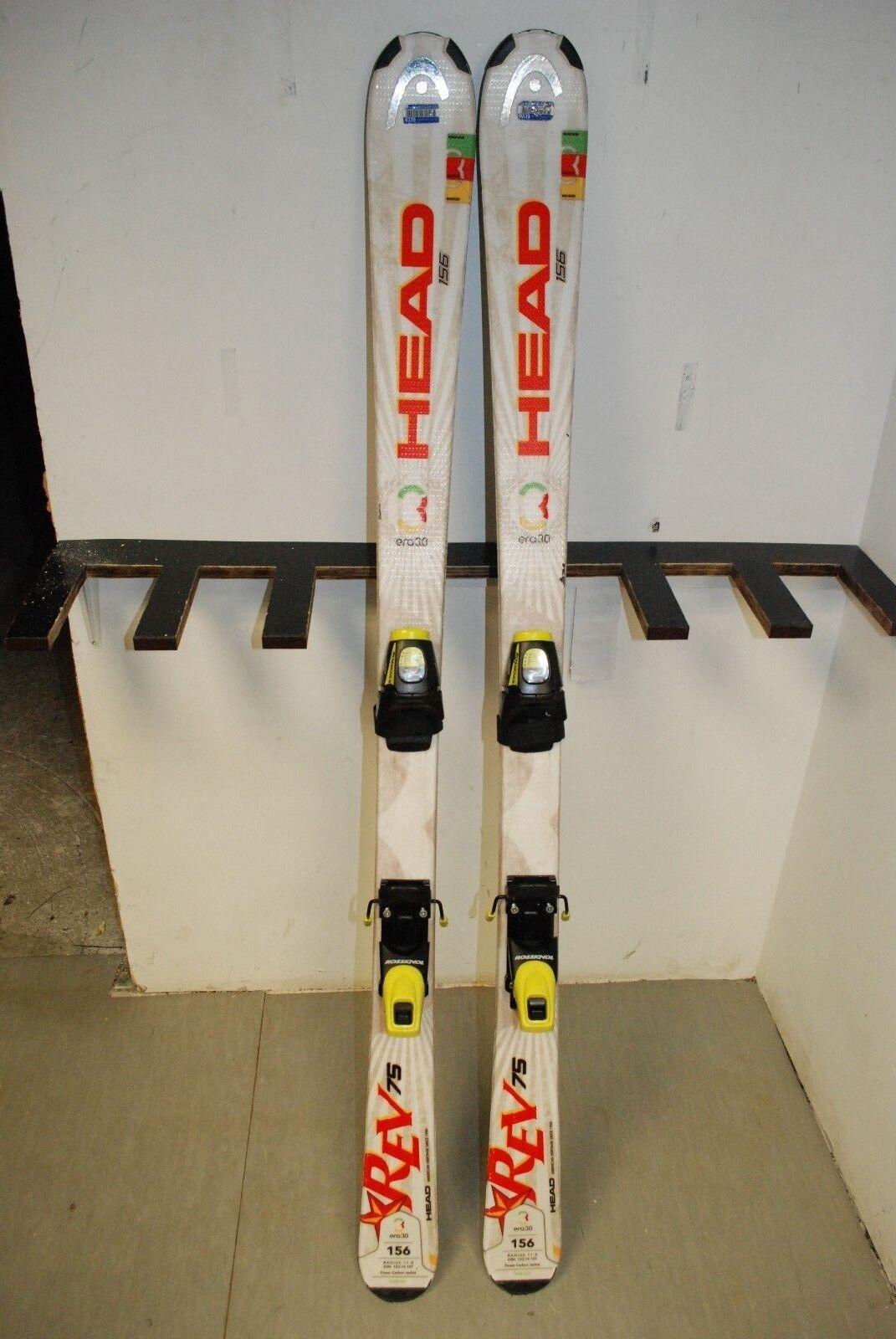 HEAD HEAD HEAD REV 75R 156 cm Ski + Rossignol FD 60 9.5 Bindings 6d87d1