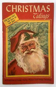 Christmas Tidings Promotional Advertising Mid Century Tillotson Art Nott's Dairy