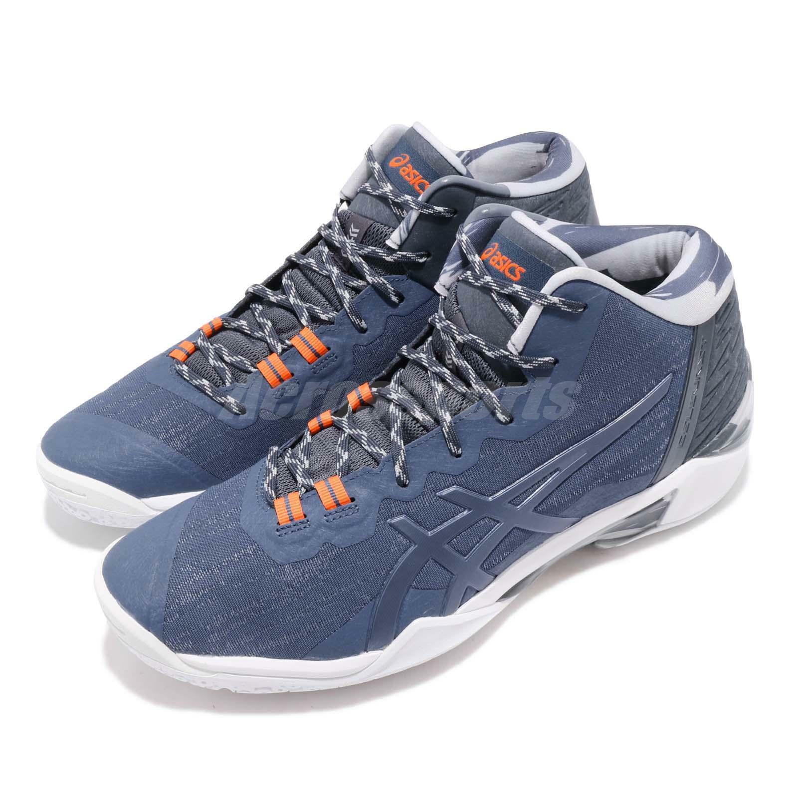 Asics Gel-Burst 23 GE Grand Shark blueee White Men Basketball shoes 1061A018-416