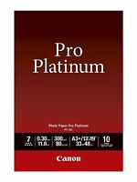 Canon Photo Paper Pro Platinum, 13 X 19 Inches, 10 Sheets (2768b018), on sale