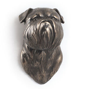 Brussels Griffon Dog Statuette To Hang On The Wall Uk Ebay