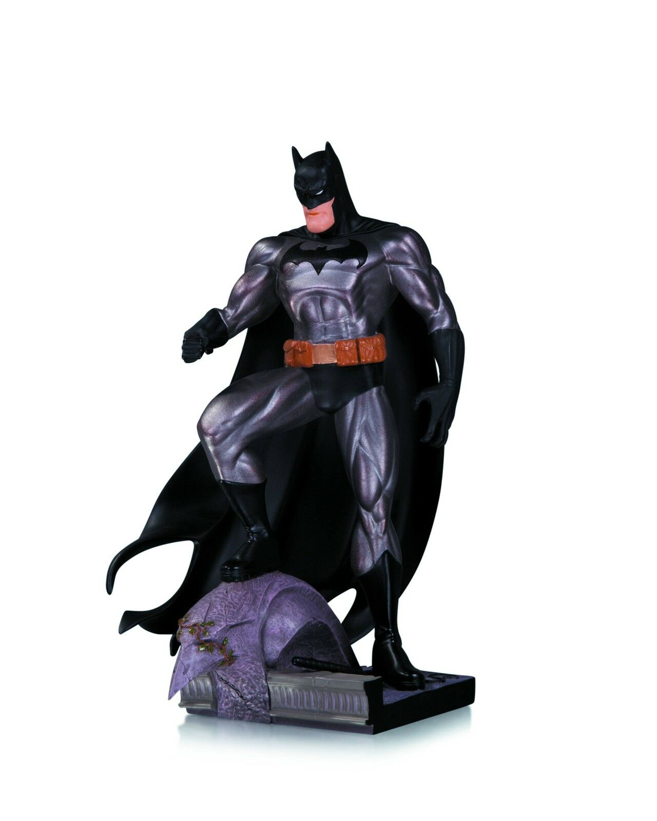 Batman Metallic Mini Statue By Jim Lee Dc Collectibles