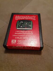 WORM WAR I by 20th CENTURY FOX for ATARI 2600 ▪︎ CARTRIDGE ONLY▪︎ FREE SHIPPING