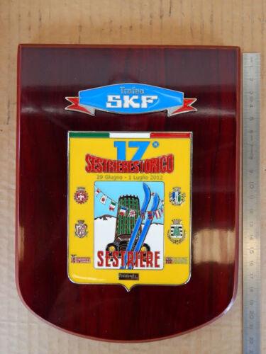 17 SESTRIERE STORICO 2007 TARGA