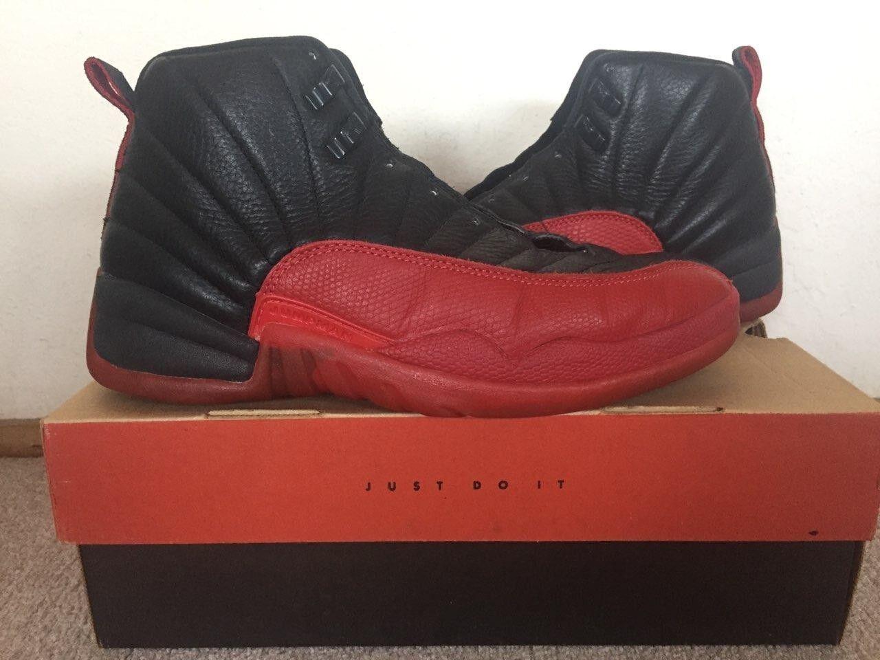 Jordan 12 Flu Game OG Size 10.5