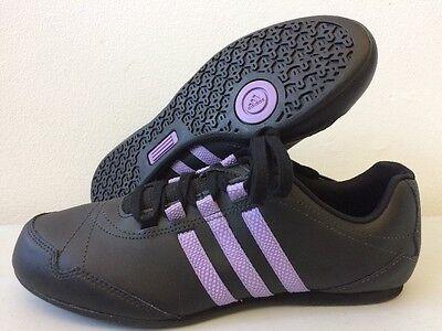 Adidas Yatra 50 11 Womens Trainers Black Leather Women's UK 4 6 7 V22295 T259 | eBay