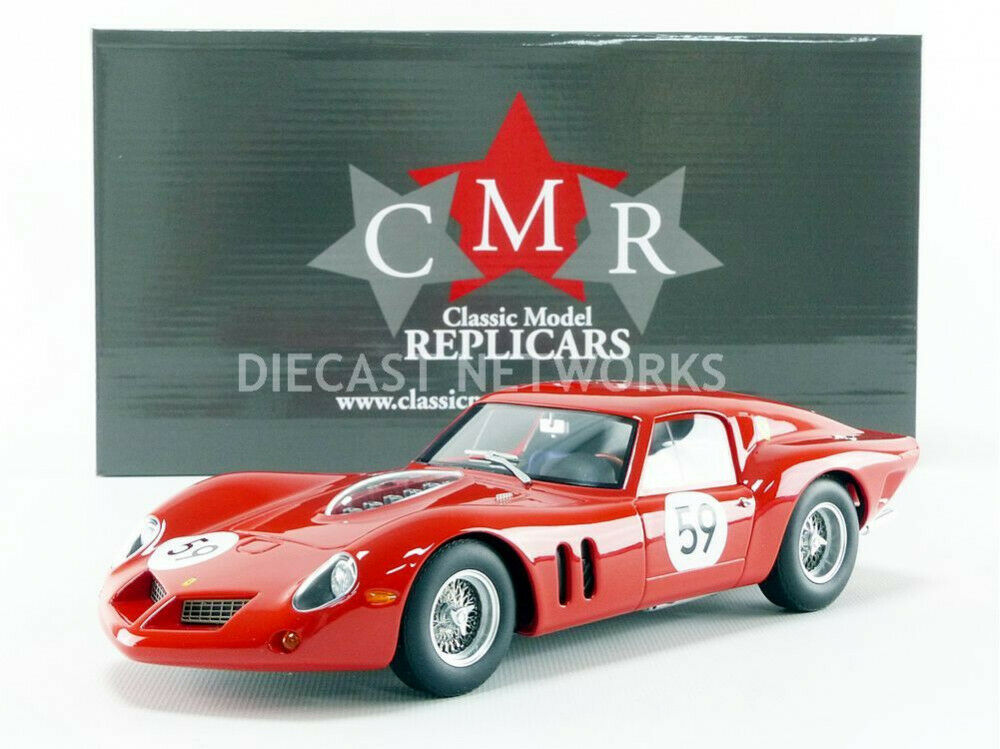 negozio online CMR - 1 1 1 18 - FERRARI 250 GT DROGO - 1000 KM NURBURGRING 1963 - CMR097  in vendita online