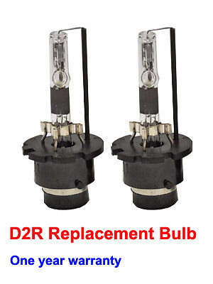 D2R 10000k HID XENON TWO OEM REPLACEMENT Blue BULBS New /& High Quality