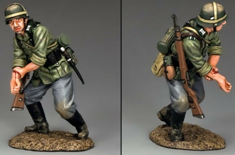 KING & COUNTRY WW2 GERMAN ARMY WS242 WOUNDED OUT OF ACTION MIB