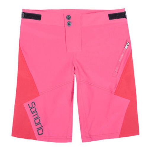 Sombrio Drift Women/'s Mountain Bike Mtb Baggy Cycling Shorts Pink Size M New