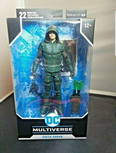 environ 17.78 cm Action Figure 22 pièces mobiles McFARLANE TOYS DC Multi-Univers Green Arrow 7 in