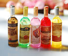 1x Random Miniature Dollhouse Kitchen Wine Bottles Lanscape DIY Decor Ornaments