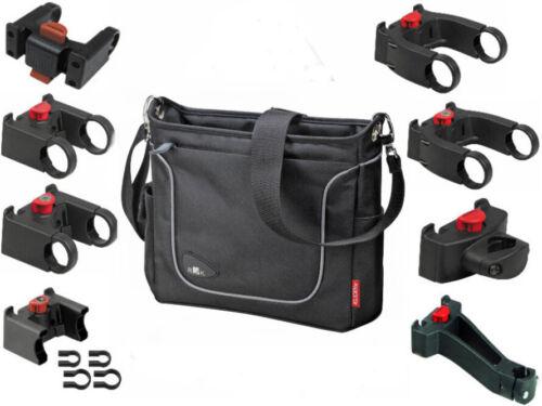 Rixen /& Kaul Klickfix Fahrrad Lenkertasche Allegra Fashion schwarz