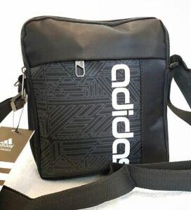 b8da5aa43 La imagen se está cargando Nueva-y-elegante-Adidas-Para-Hombres-Bandolera- hombro-