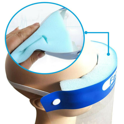5Pack Safety Full Face Shield Reusable Protection Cover Face Eye Cashier Helmet