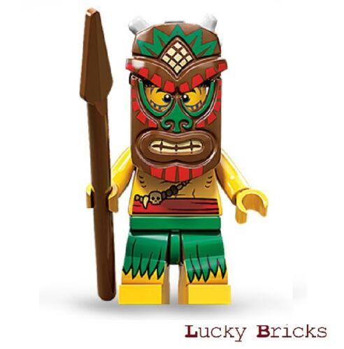 LEGO Minifiguren 71002 Island Warrior Insulaner M11 F5 Serie 11 Figur 5
