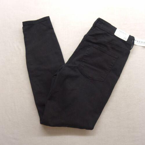 Femme La Haut 32 23 Pacsun Délavé Jeans Nouveau Uni Noir Skinniest Tailles dxwg4aq