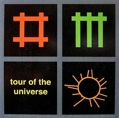 "DEPECHE MODE AUFKLEBER / STICKER # 7 ""TOUR OF THE UNIVERSE"" - PVC WETTERFEST"