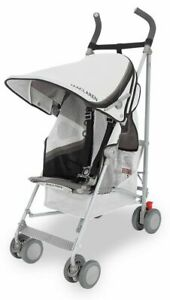 Maclaren Baby Wing Knit Lightweight Compact Fold Umbrella Stroller 2018 Black