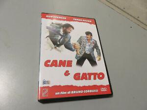 CANE e GATTO Bud Spencer Tomas Milian DVD buono stato