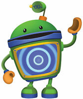 6-9.5 Team Umizoomi Bot Wall Safe Sticker Character Border Cut Out