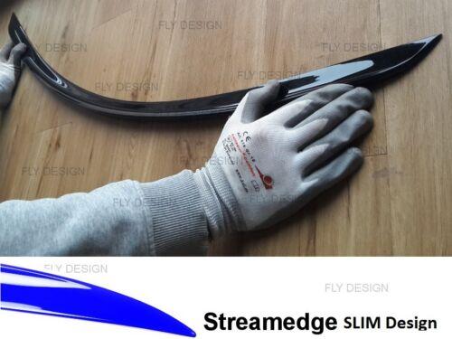 original matt SCHWARZ Slim spoiler abrisskante lippe für AUDI A6 Limo C7