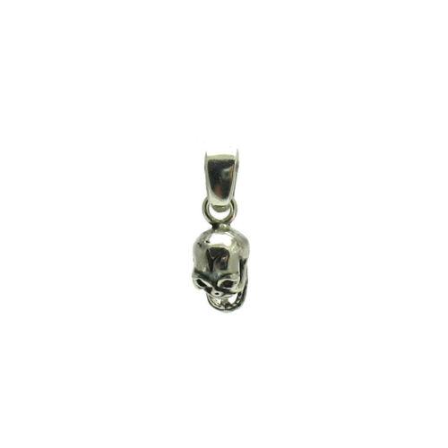 Pendentif en argent sterling Charme Solide 925 Petit Crâne PE000955 EMPRESS