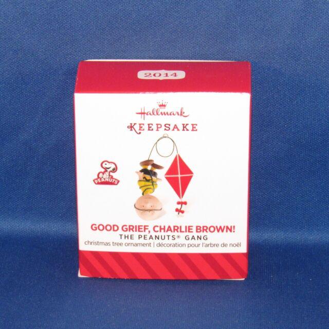 Hallmark - 2014 Good Grief, Charlie Brown Miniature Keepsake Christmas Ornament
