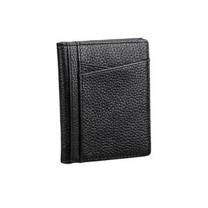 Soft-Cowhide-Leather-Wallet-ID-Credit-Card-Holder-Zipper-Coin-Purse-Wallet-LC