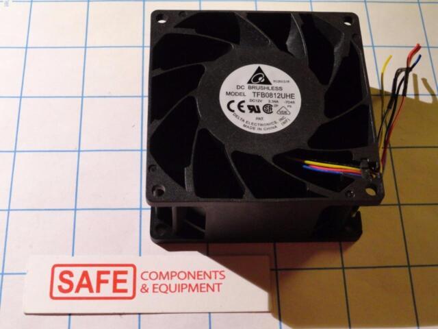 NIDEC VA450DC-V34809-90 120mmX38mm Bearing Fan DC12V 3.3A 4-Wire 220CFM MM-301